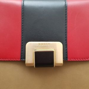 Bally Bags - Bally Colorblock Leather Crossbody Bag